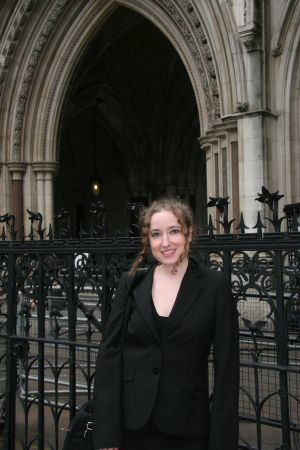 Georgina at the High Court