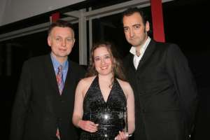 Georgina recieves award